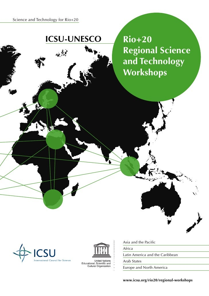 Science and Technology for Rio+20                ICSU-UNESCO         Rio+20                                    Regional Sc...