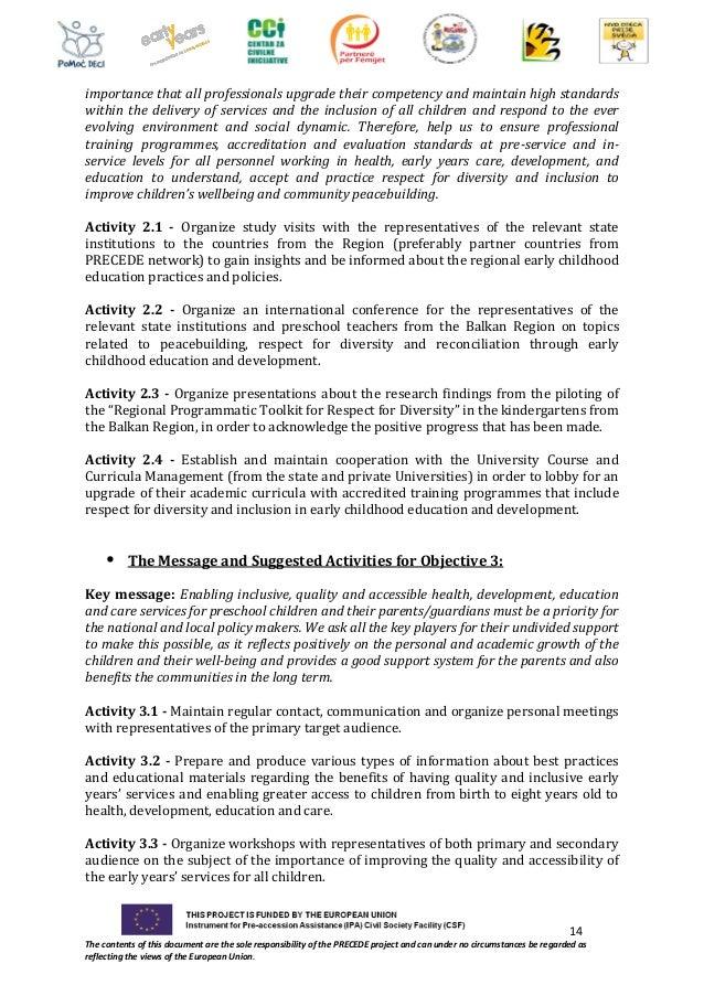 Regional Advocacy Strategy 2016 2019 Precede Partnership For Reconcil