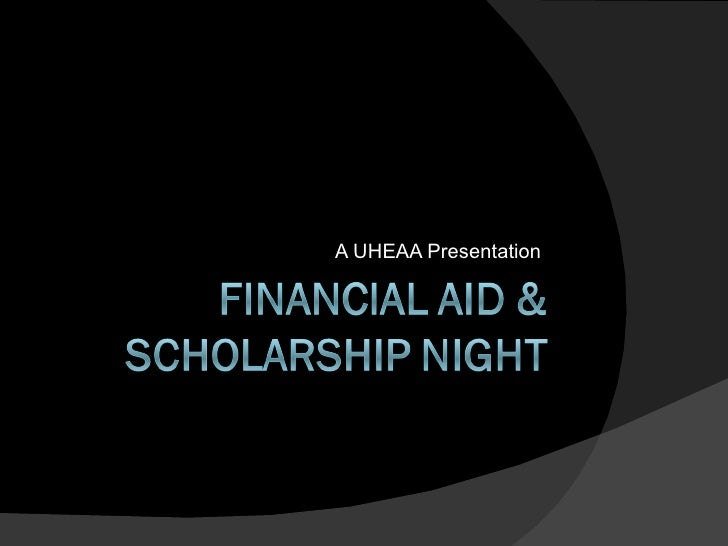 Regional Finaid Aid Nights,  HS Tour 2010