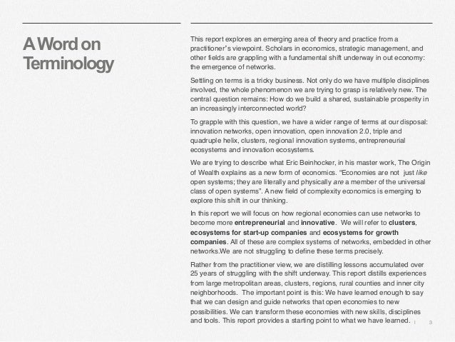   3 AWordon Terminology This report explores an emerging area of theory and practice from a practitioner's viewpoint. Scho...