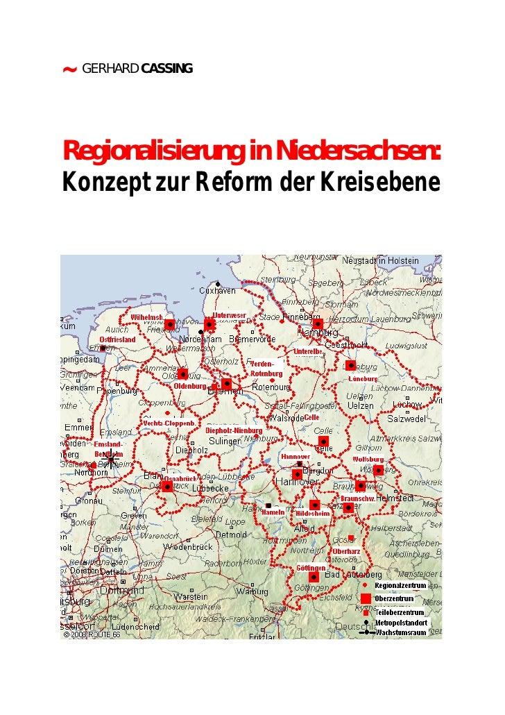 Regionalisierung In Niedersachsen