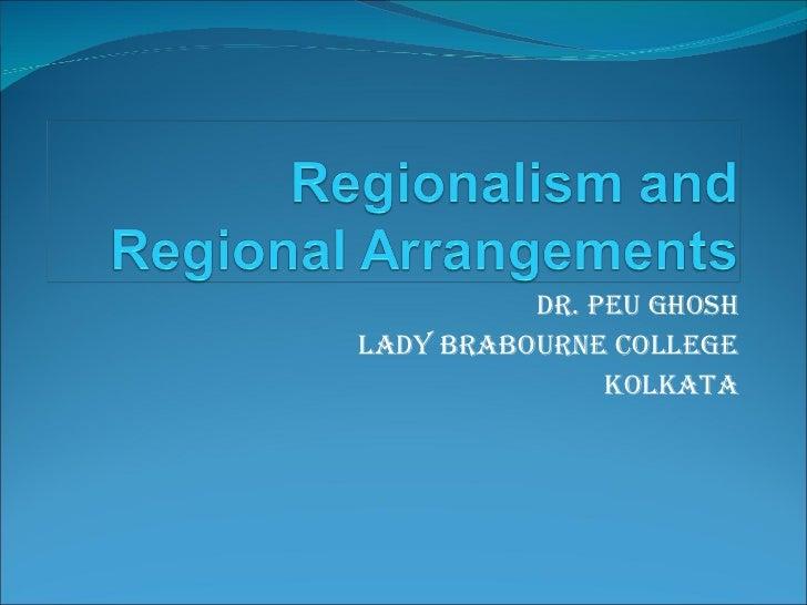 Dr. Peu Ghosh Lady Brabourne College Kolkata