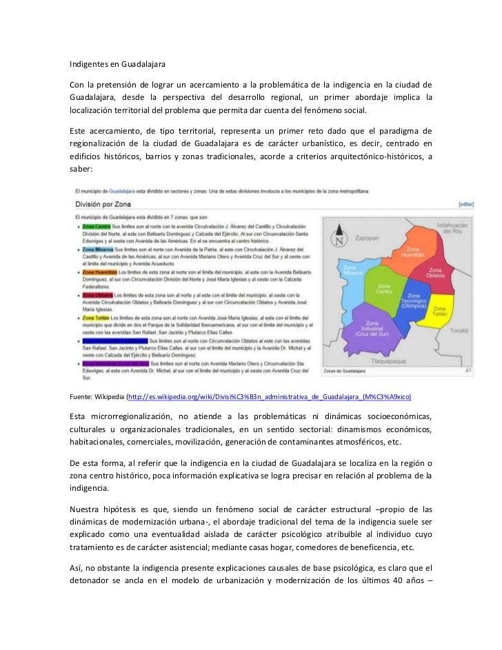 Indigentes en GuadalajaraCon la pretensión de lograr un acercamiento a la problemática de la indigencia en la ciudad deGua...