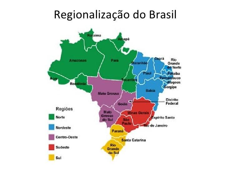 As cinco grandes regiões do IBGE                   Sul: região menos extensa do país,                   apresentando      ...