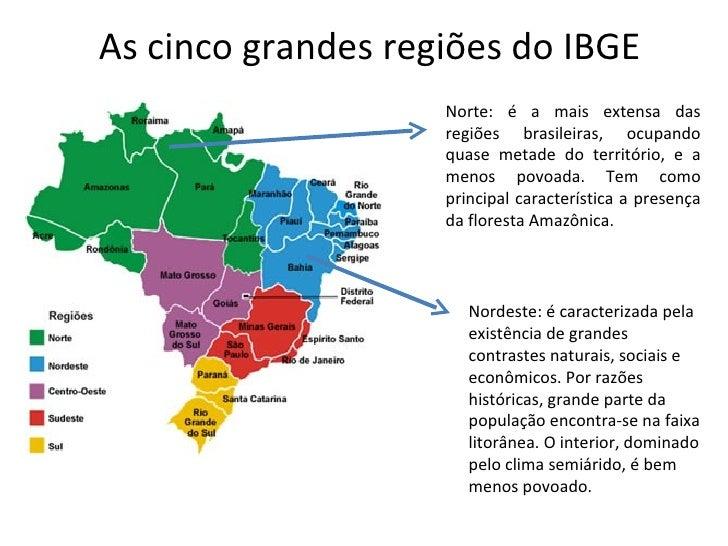 Regionalização do Brasil (IBGE)