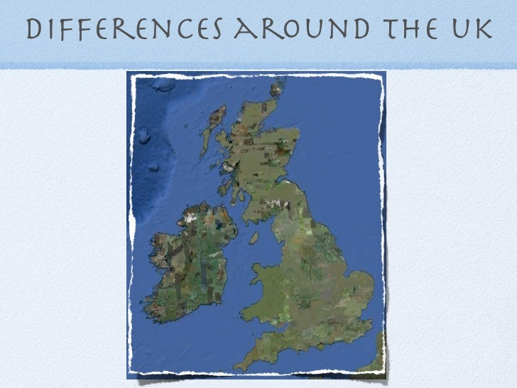 Differences around the uk