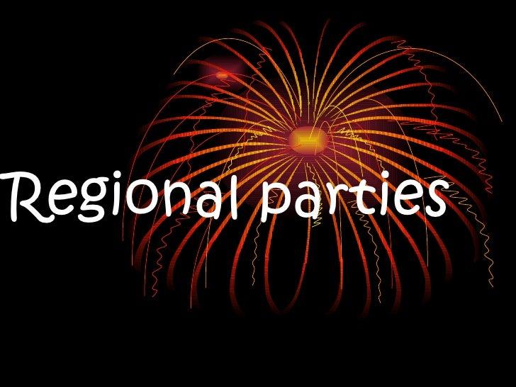 Regional parties