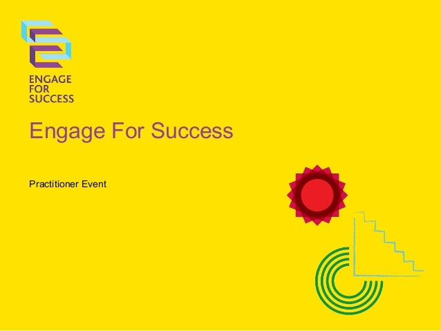 Engage For Success Practitioner Event