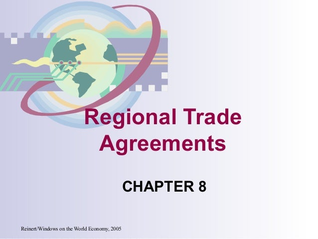 Regional trade agreements an analysis