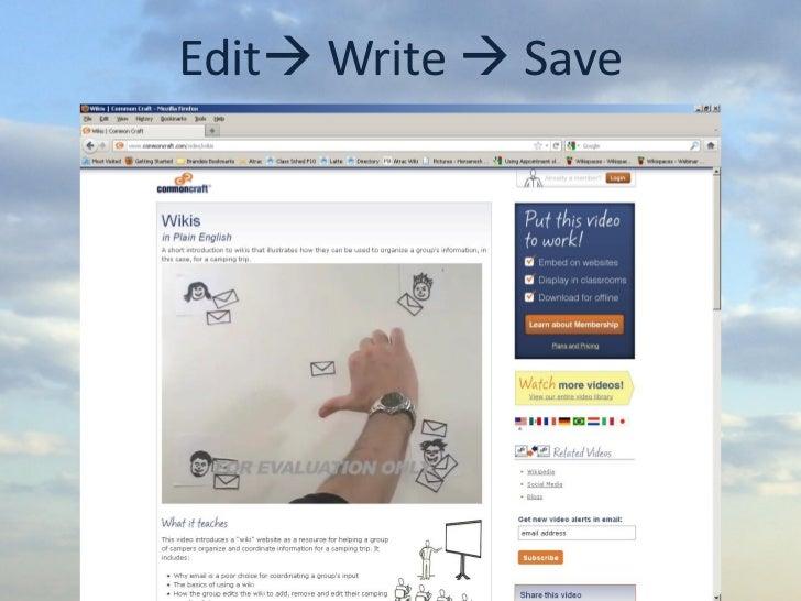 Edit Write  Save