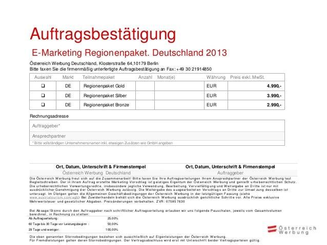 Ihr Kontakt:Mag. Iris Wermescher Fanny BrommerTel.: +49 30 219148-13 Tel.: +49 30 219148-52Fax: +49 30 219148-50 Fax: +49 ...