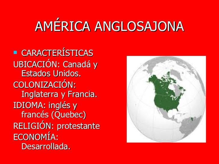 Regiones de amrica