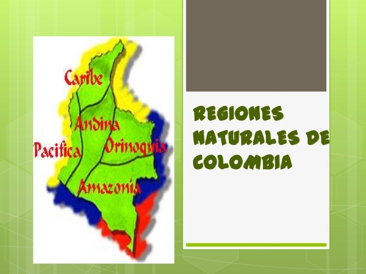 REGIONESNATURALES DECOLOMBIA
