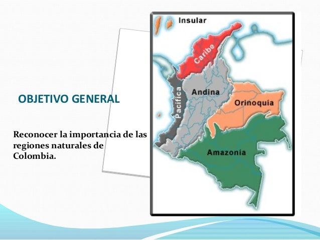 72 Regiones Naturales De Colombia