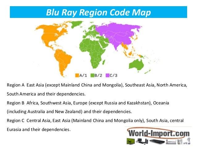 Region free blu ray dvd players
