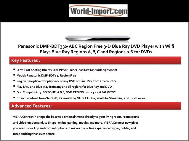 Buy Region Free Blue Ray DVD Players From World-Import Com