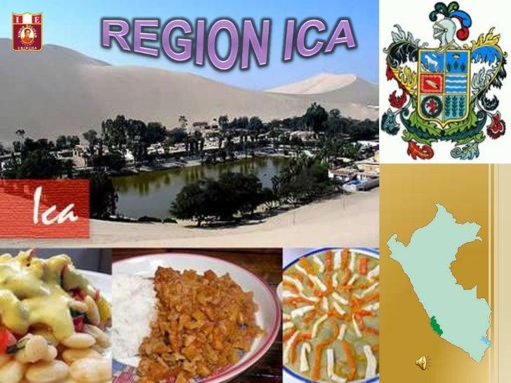 REGION ICA<br />