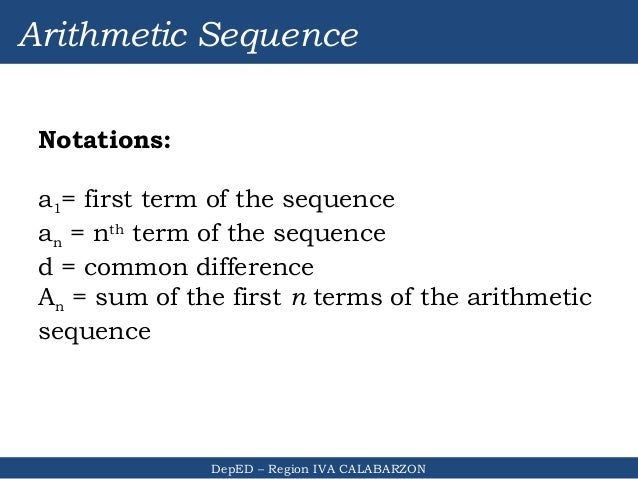 Region iv a module 1 sequences revised 2