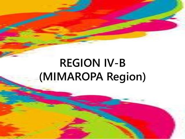REGION IV-B (MIMAROPA Region)