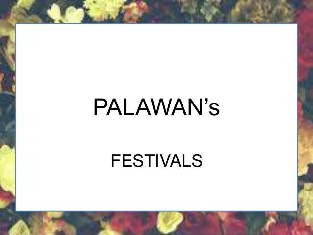 BARAGATAN FESTIVAL PALAWAN (Festivals)