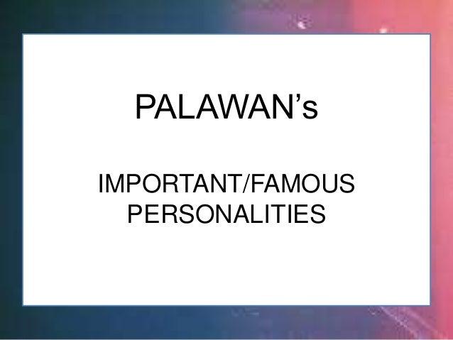 EDWARD HAGEDORN PALAWAN (Important/Famous Personalities)