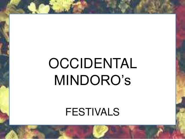 ARAWATAN FESTIVAL OCCIDENTAL MINDORO (Festivals)