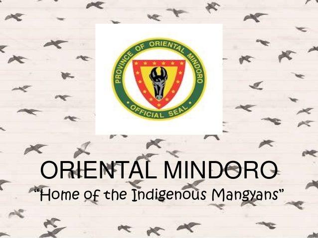 ORIENTAL MINDORO (Location)