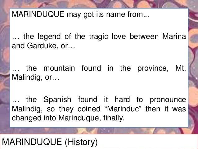MARINDUQUE (Products)