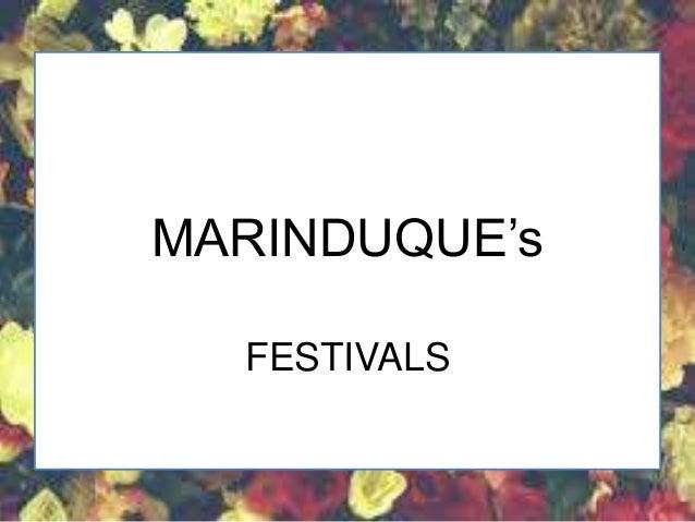 BULATING FESTIVAL MARINDUQUE (Festivals)