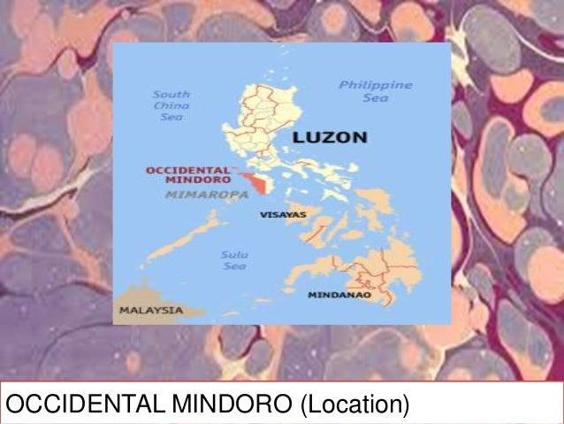 OCCIDENTAL MINDORO (History) MINDORO island during…. …Pre-Spanish time MA-I …Spanish time MINA DE ORO …1950, it was divide...