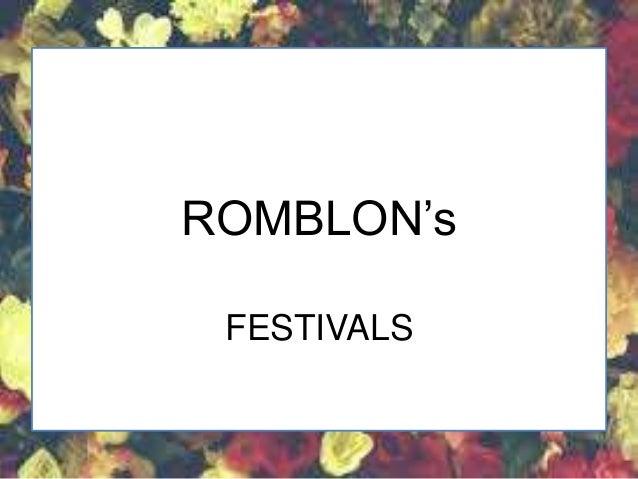 BINIRAY FESTIVAL ROMBLON (Festival)