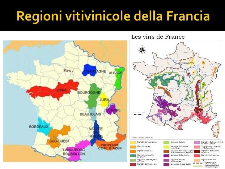 Cartina Vini Francia.Introduzione Al Vino Francese