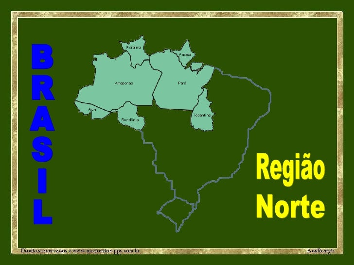 BRASIL Região Norte