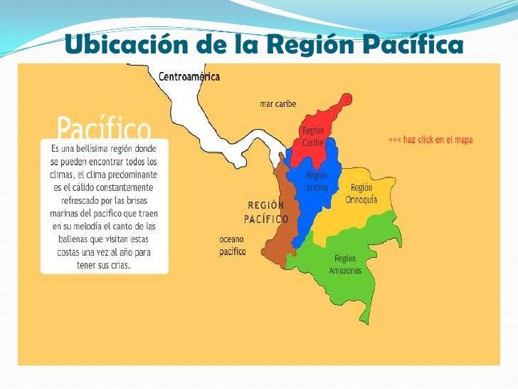 Region pacifica colombiana for Ubicacion de la cocina