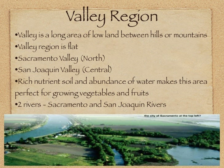 California Central Valley Region Facts For Kids