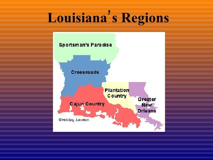 Louisiana's Regions