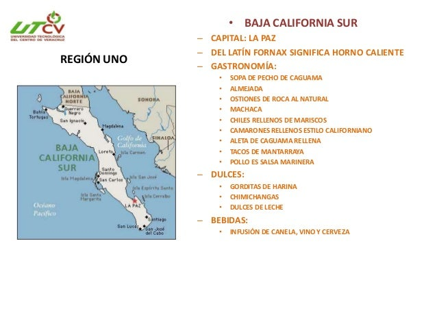 BAJA CALIFORNIA SUR • Entidad más joven del país. En 1974 se fundo. • Se divide en 5 municipios: La paz, Comondú, Mulege, ...