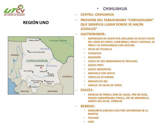 CHIHUAHUA • Se divide en 67 municipios. • Pertenecían a grupos nómada y seminómadas como tepehuanes, tarahumaras, guarijío...