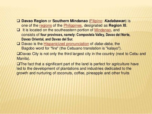 DAVAO REGION