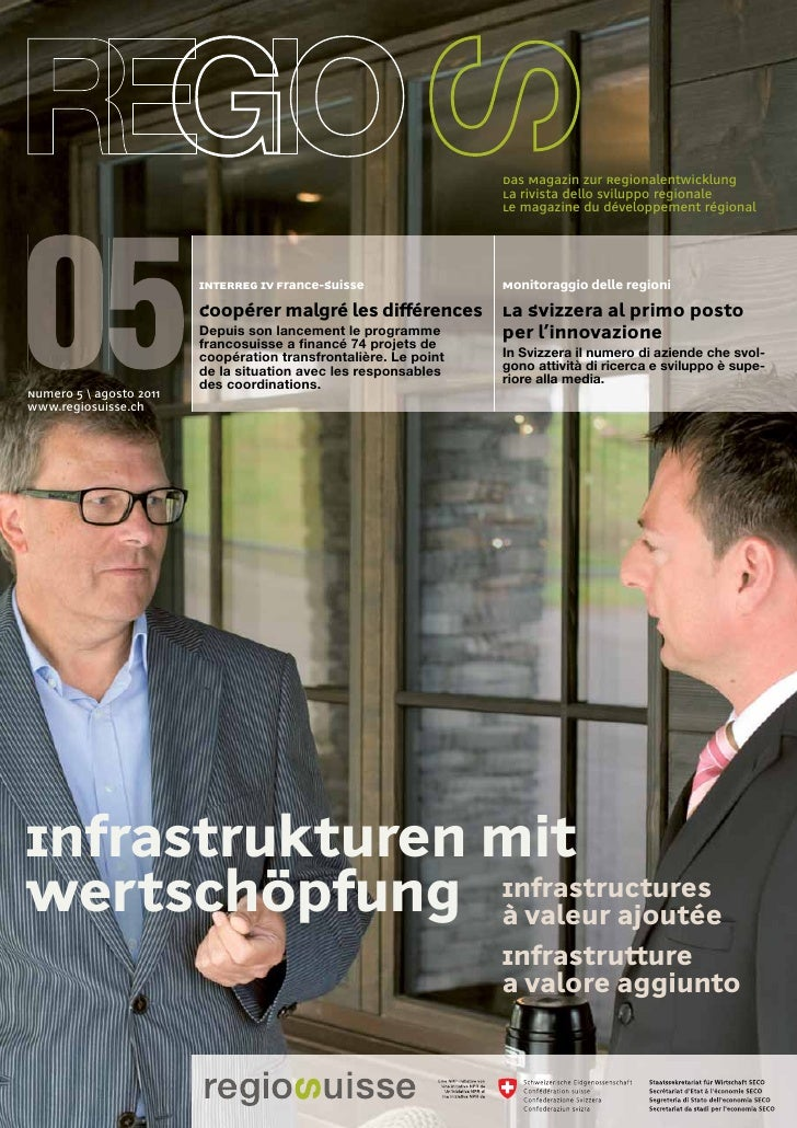 Das Magazin zur Regionalentwicklung                                                                  La rivista dello svil...