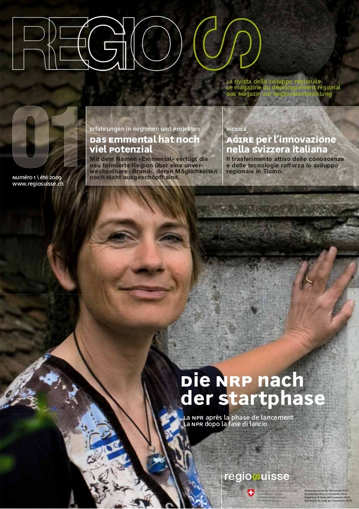 La rivista dello sviluppo regionale                                                                  Le magazine du dévelo...