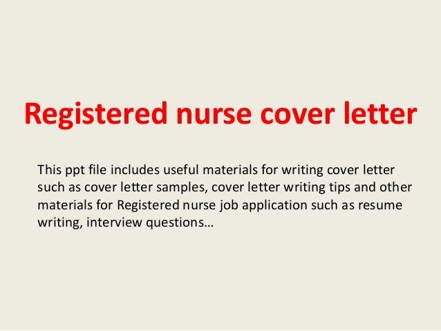 Cover Letter Rn | Resume CV Cover Letter
