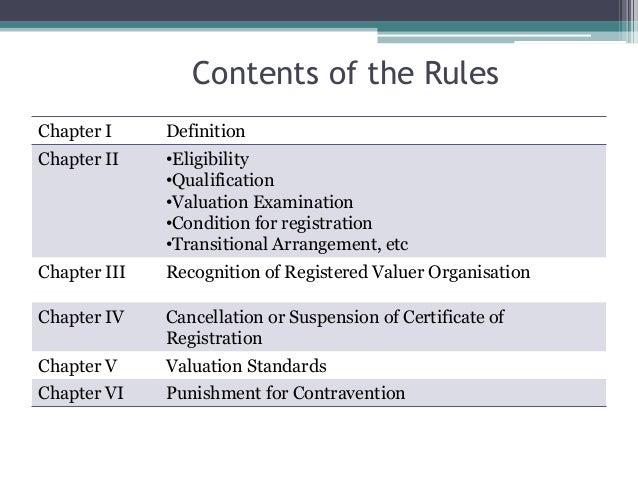 Registered valuer