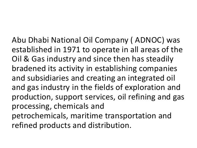 Registering into adnoc & its subsidaries abu dhabi uae