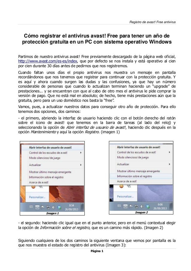 como actualizar antivirus avast free antivirus
