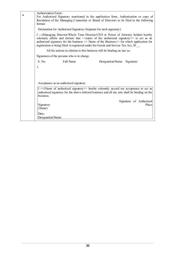 Authorised signatory letter format for excise best sign 2018 authorisation letter format central excise farran spiritdancerdesigns Gallery