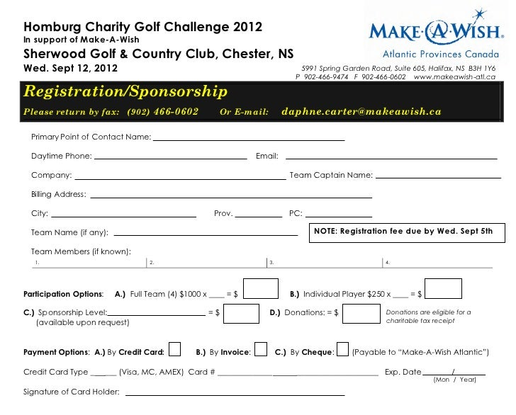 Homburg Charity Golf Challenge 2012In support of Make-A-WishSherwood Golf & Country Club, Chester, NSWed. Sept 12, 2012   ...