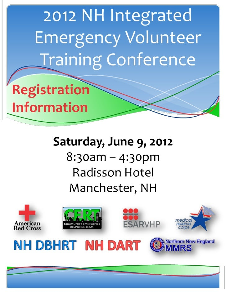 Registration InformationRegistration Guidelines                     There is no fee to attend this conference. However, pl...
