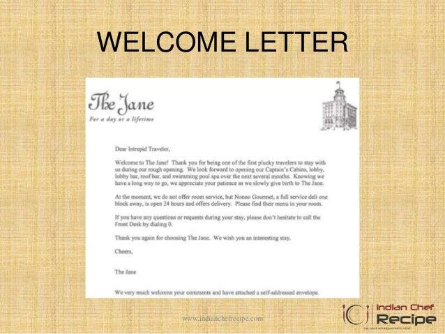 Hotel welcome letter dolapgnetband hotel welcome letter altavistaventures Image collections