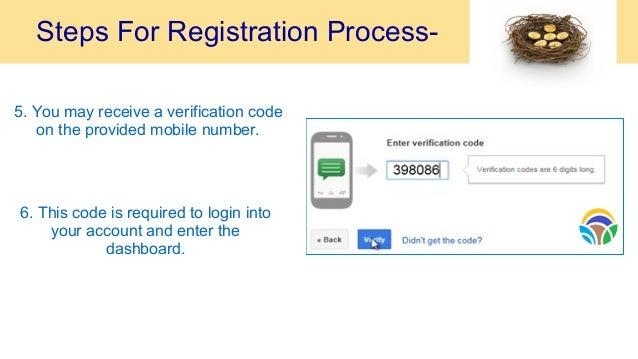 Online registration process auditions